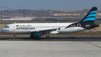5A-ONO - Afriqiyah Airways Airbus A320