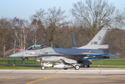 J-016 - Netherlands - Air Force General Dynamics F-16A Fighting Falcon aircraft