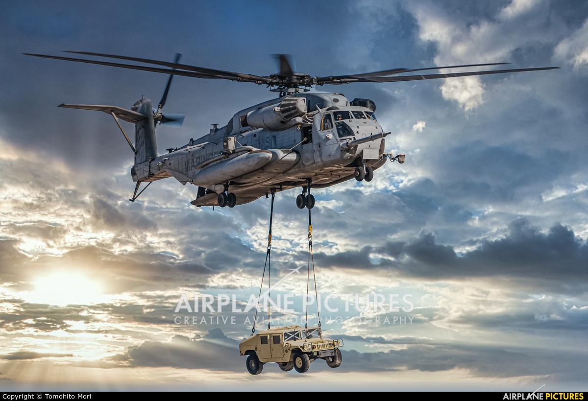 USA - Marine Corps HMH-265 aircraft at Nellis AFB