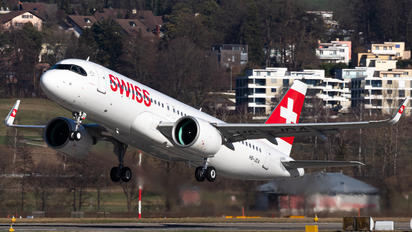 HB-JDA - Swiss Airbus A320 NEO