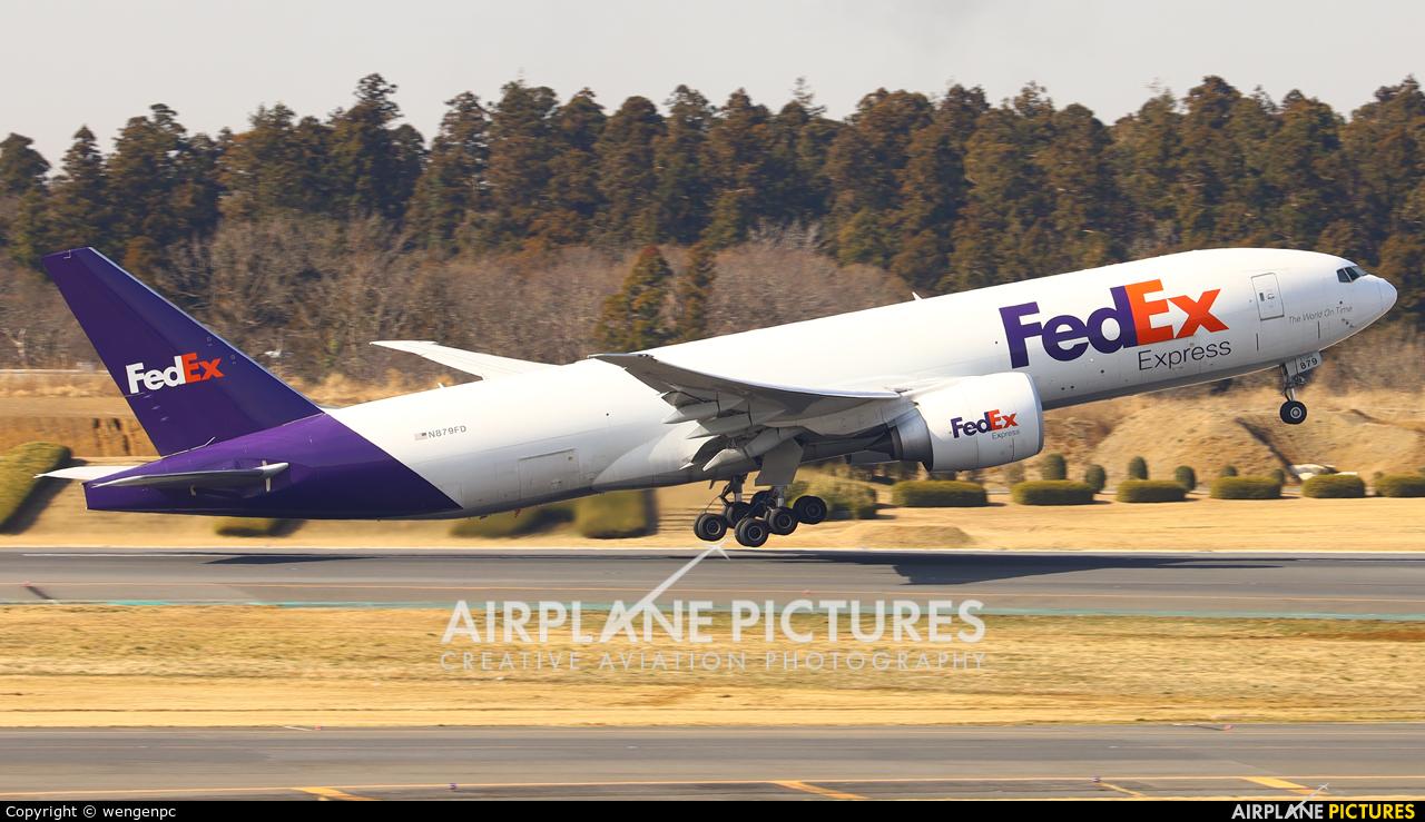 FedEx Federal Express N879FD aircraft at Tokyo - Narita Intl