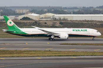 B-17806 - Eva Air Boeing 787-10 Dreamliner