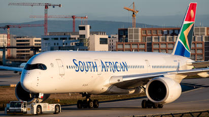 ZS-SDD - South African Airways Airbus A350-900