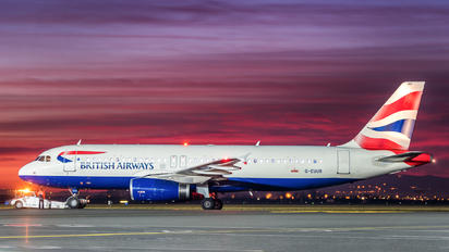 G-EUUR - British Airways Airbus A320
