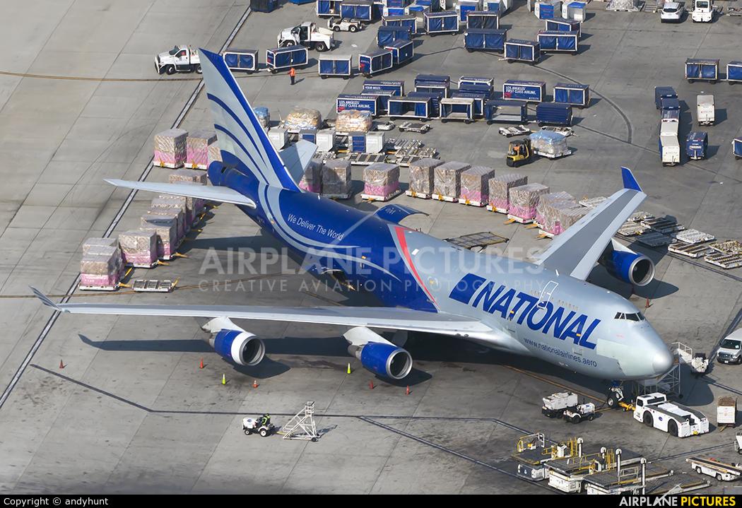 National Airlines N919CA aircraft at Los Angeles Intl