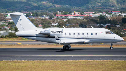 XA-PMS - Private Bombardier CL-600-2B16 Challenger 604