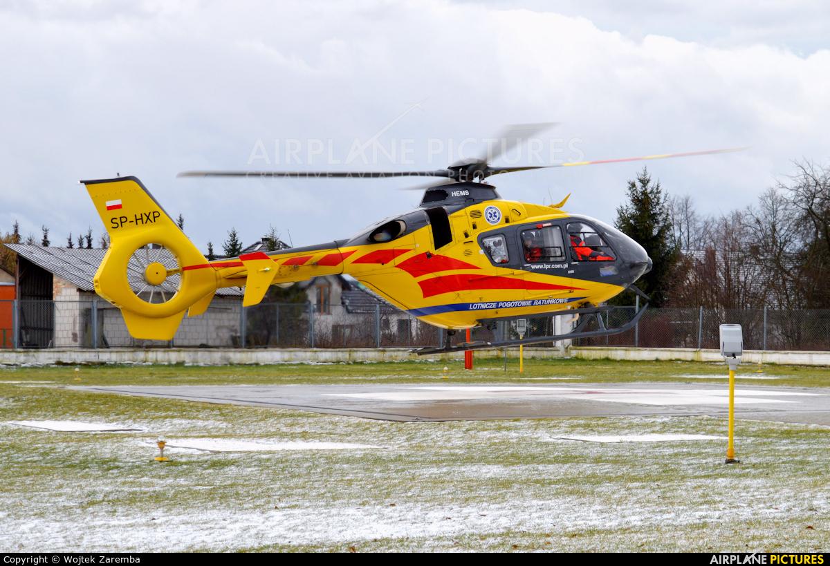 Polish Medical Air Rescue - Lotnicze Pogotowie Ratunkowe SP-HXP aircraft at Siemiatycze Hospital