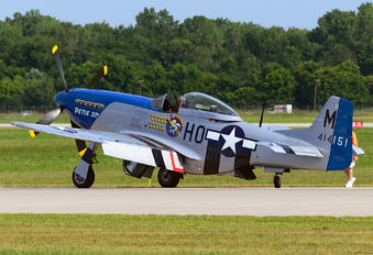 NL5427V - Private North American P-51D Mustang