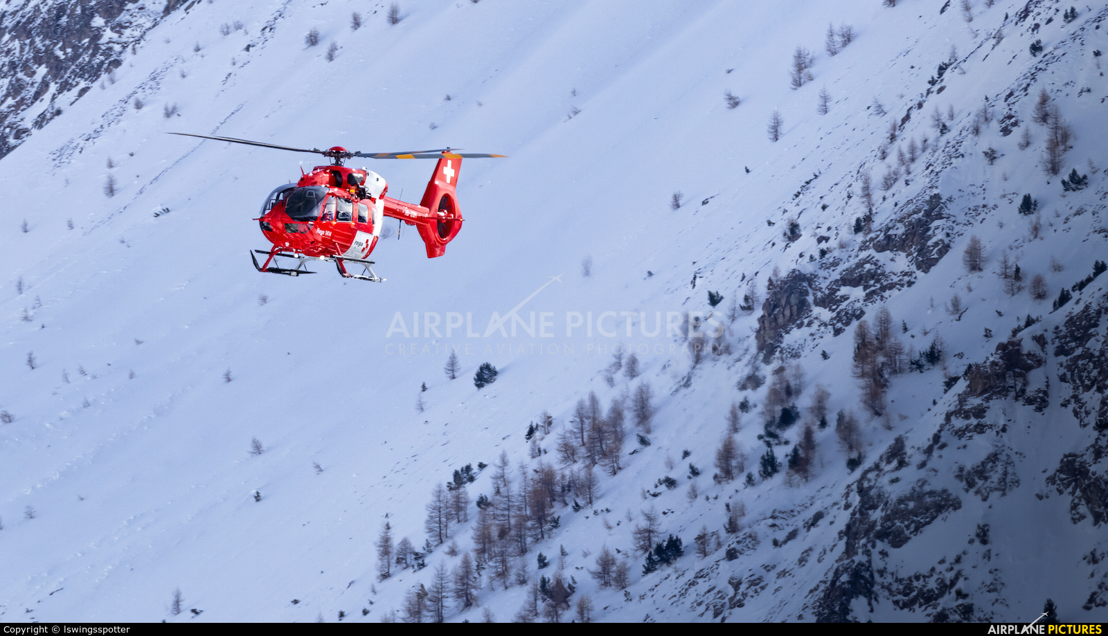 REGA Swiss Air Ambulance  HB-ZQM aircraft at -Do Not Use-