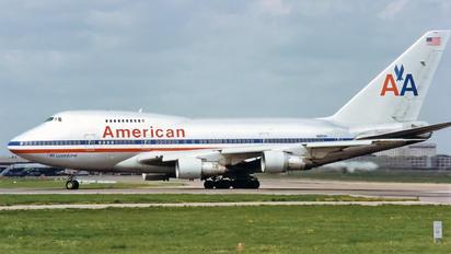 N602AA - American Airlines Boeing 747SP