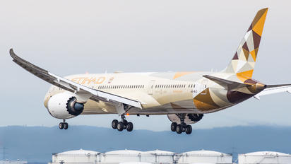A6-BLQ - Etihad Airways Boeing 787-9 Dreamliner