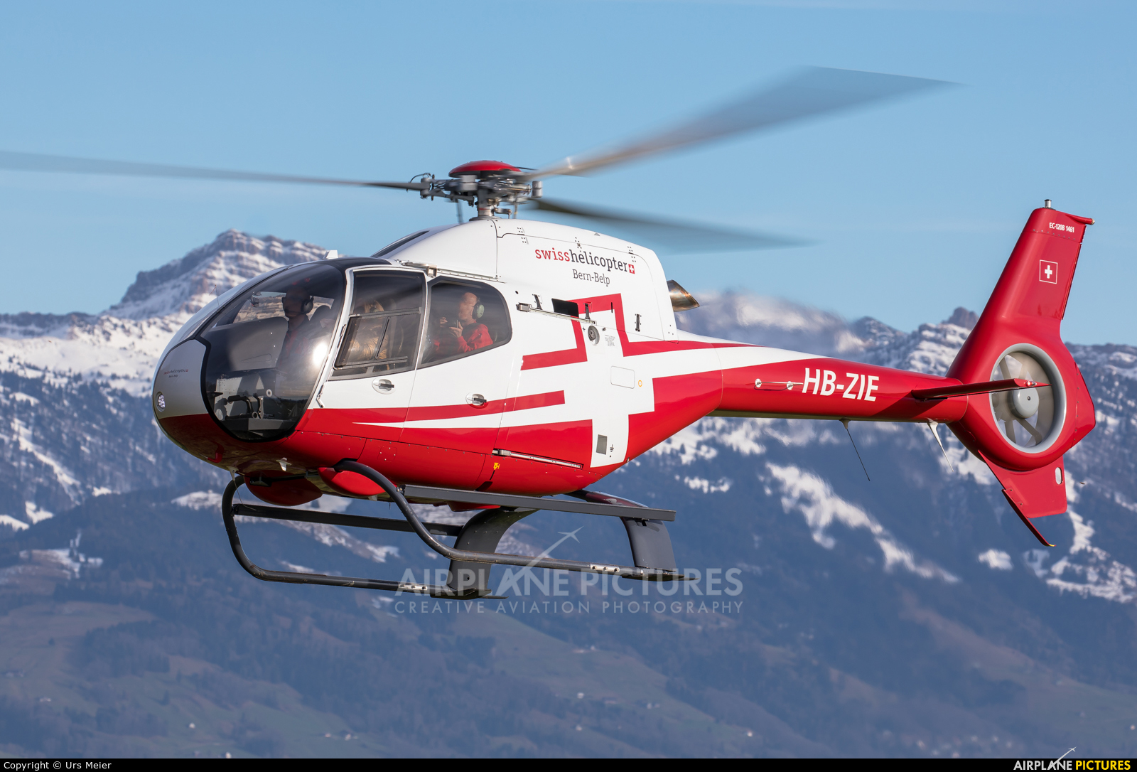 Swiss Helicopter HB-ZIE aircraft at Off Airport - Switzerland