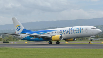 N545CC - Swift Air Boeing 737-400