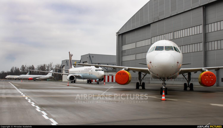 Vueling Airlines EC-LQZ aircraft at Ostrava Mošnov