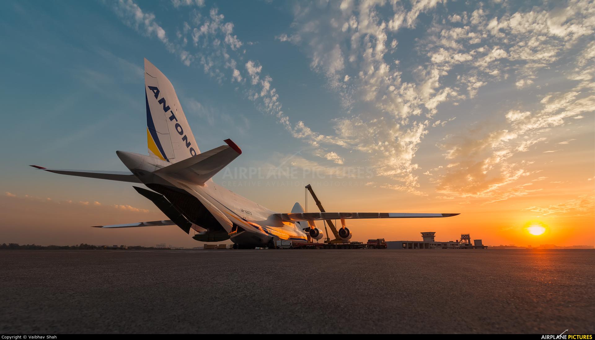 Antonov Airlines /  Design Bureau UR-82073 aircraft at Mumbai - Chhatrapati Shivaji Intl