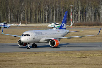 SE-ROP - SAS - Scandinavian Airlines Airbus A320 NEO