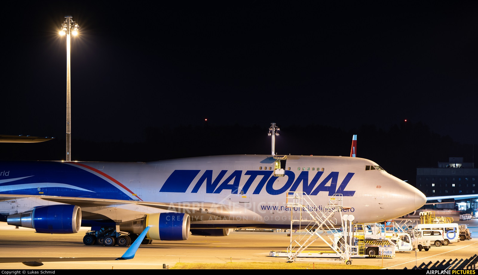 National Airlines N952CA aircraft at Zurich