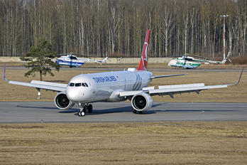 TC-LSL - Turkish Airlines Airbus A321 NEO