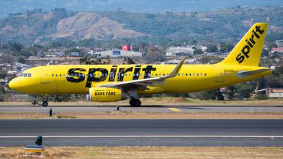 N655NK - Spirit Airlines Airbus A320