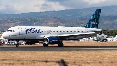 N621JB - JetBlue Airways Airbus A320