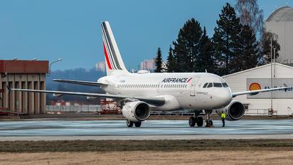 F-GRHQ - Air France Airbus A319