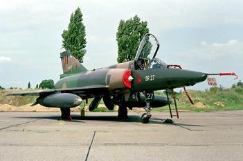 BR27 - Belgium - Air Force Dassault Mirage V BR