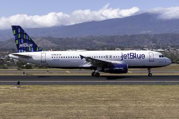 N796JB - JetBlue Airways Airbus A320