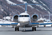 VP-CES - Private Bombardier BD-700 Global 5000 aircraft