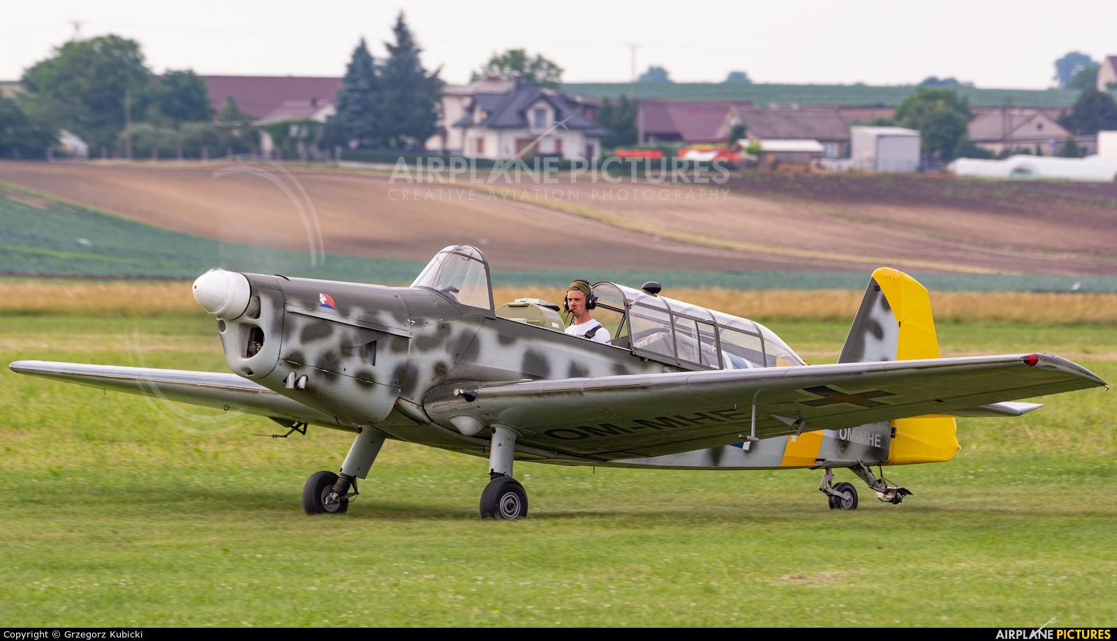 Private OM-MHE aircraft at Kraków - Pobiednik Wielki