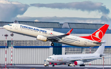 TC-JVG - Turkish Airlines Boeing 737-800