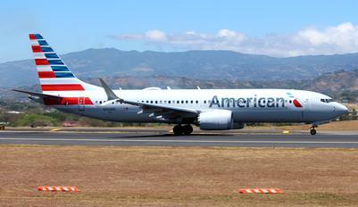 N308RD - American Airlines Boeing 737-8 MAX
