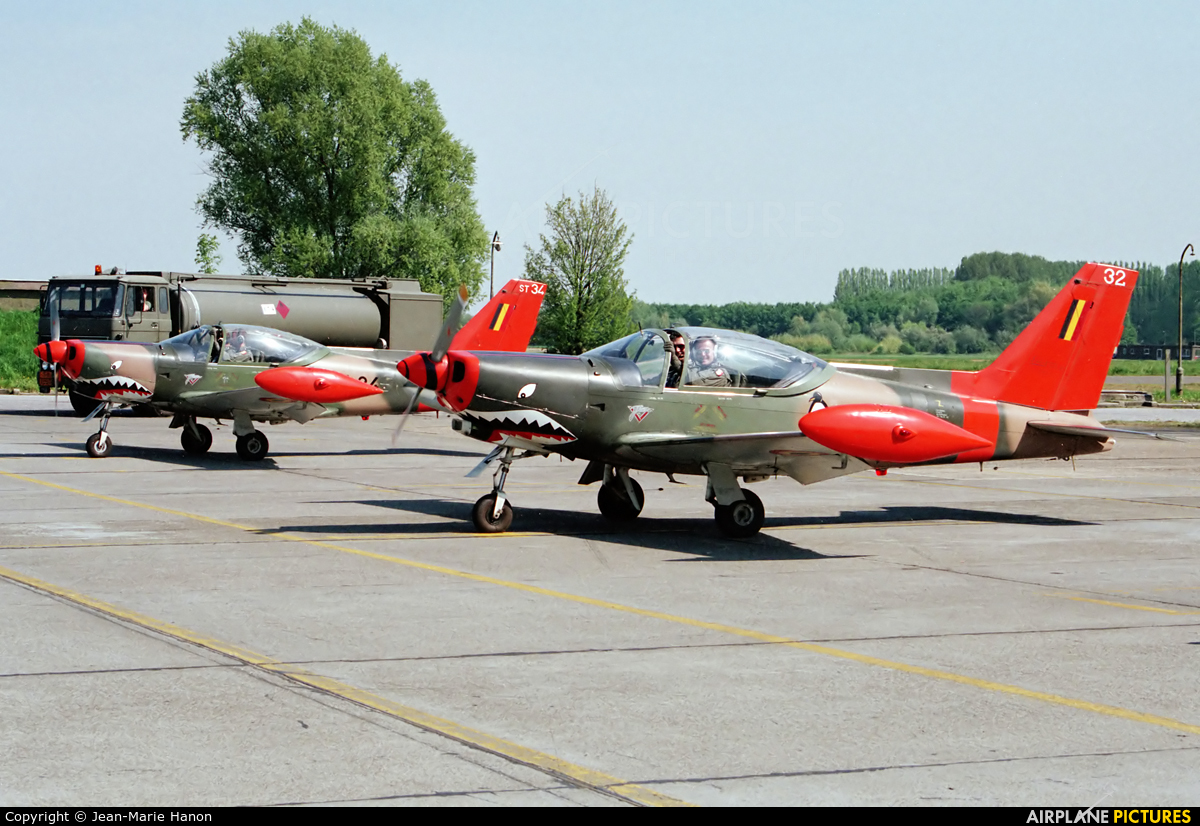 Belgium - Air Force ST-32 aircraft at St Truiden/Bruste