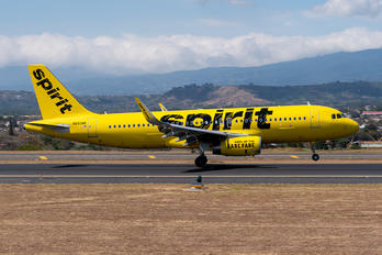 N693NK - Spirit Airlines Airbus A320