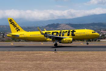 N693NK - Spirit Airlines Airbus A320