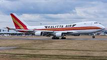 Kalitta Air Boeing 747 at Prague Airport title=
