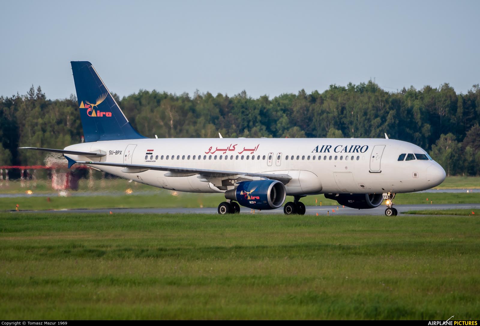 Air Cairo SU-BPX aircraft at Katowice - Pyrzowice