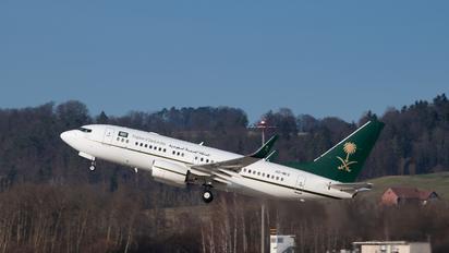 HZ-MF2 - Saudi Arabia - Government Boeing 737-700 BBJ