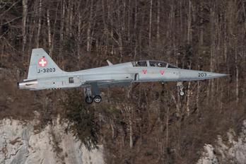 J-3203 - Switzerland - Air Force Northrop F-5F Tiger II