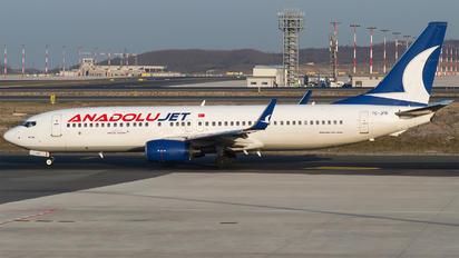 TC-JFH - AnadoluJet Boeing 737-800