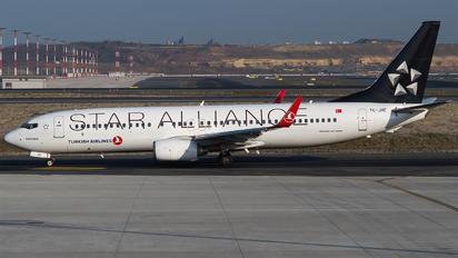 TC-JHE - Turkish Airlines Boeing 737-800