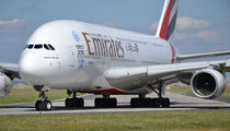 A6-EOZ - Emirates Airlines Airbus A380 aircraft