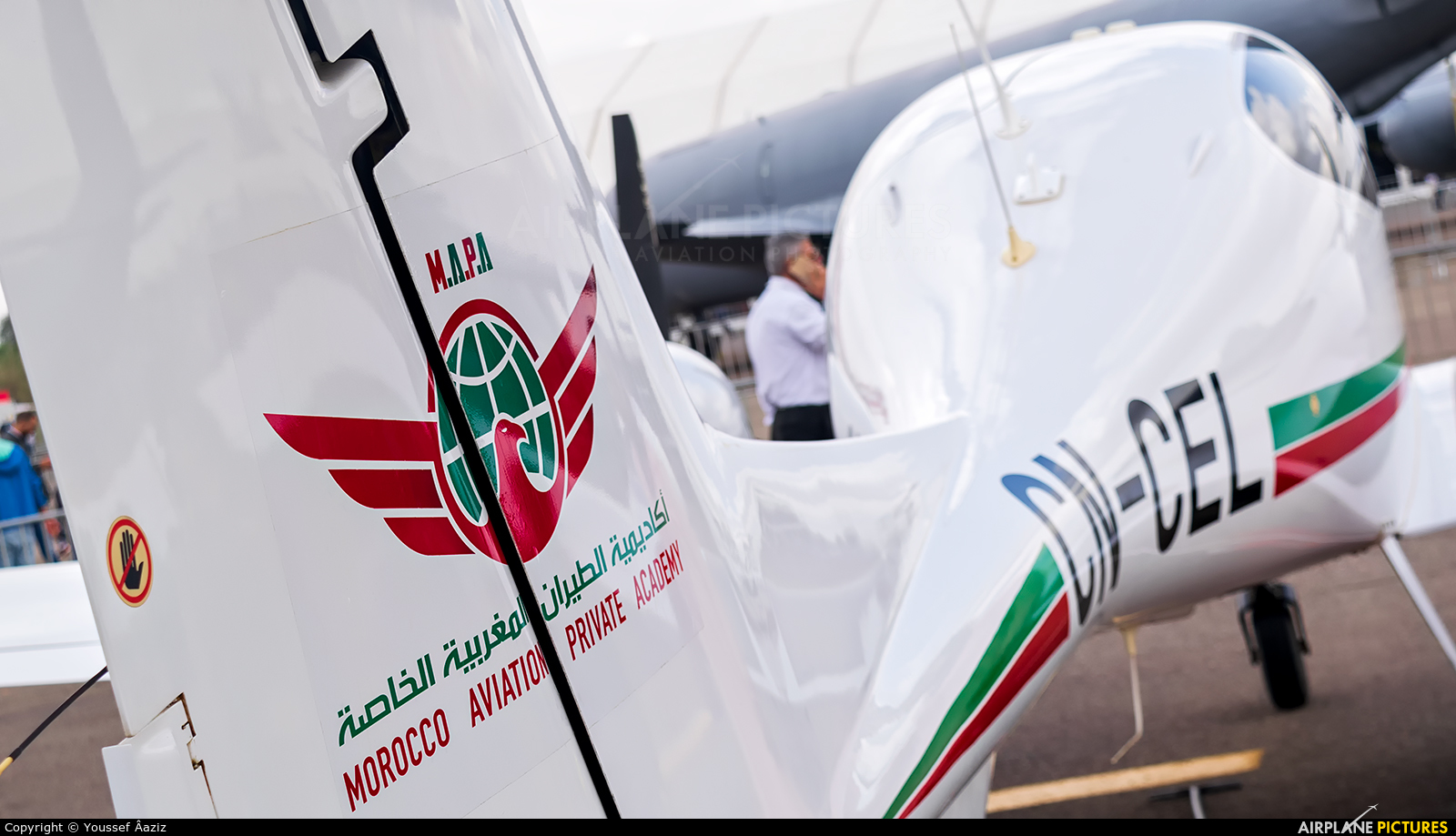 Morocco Aviation Private Academy (MAPA) CN-CEL aircraft at Marrakech - Menara