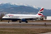 G-GATN - British Airways Airbus A320 aircraft