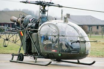 A73 - Belgium - Army Aerospatiale SA-318C Alouette II Astazou