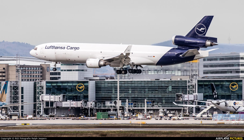 Lufthansa Cargo D-ALCC aircraft at Frankfurt