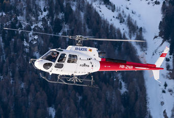 HB-ZNR - Air Glaciers Eurocopter AS350 Ecureuil / Squirrel