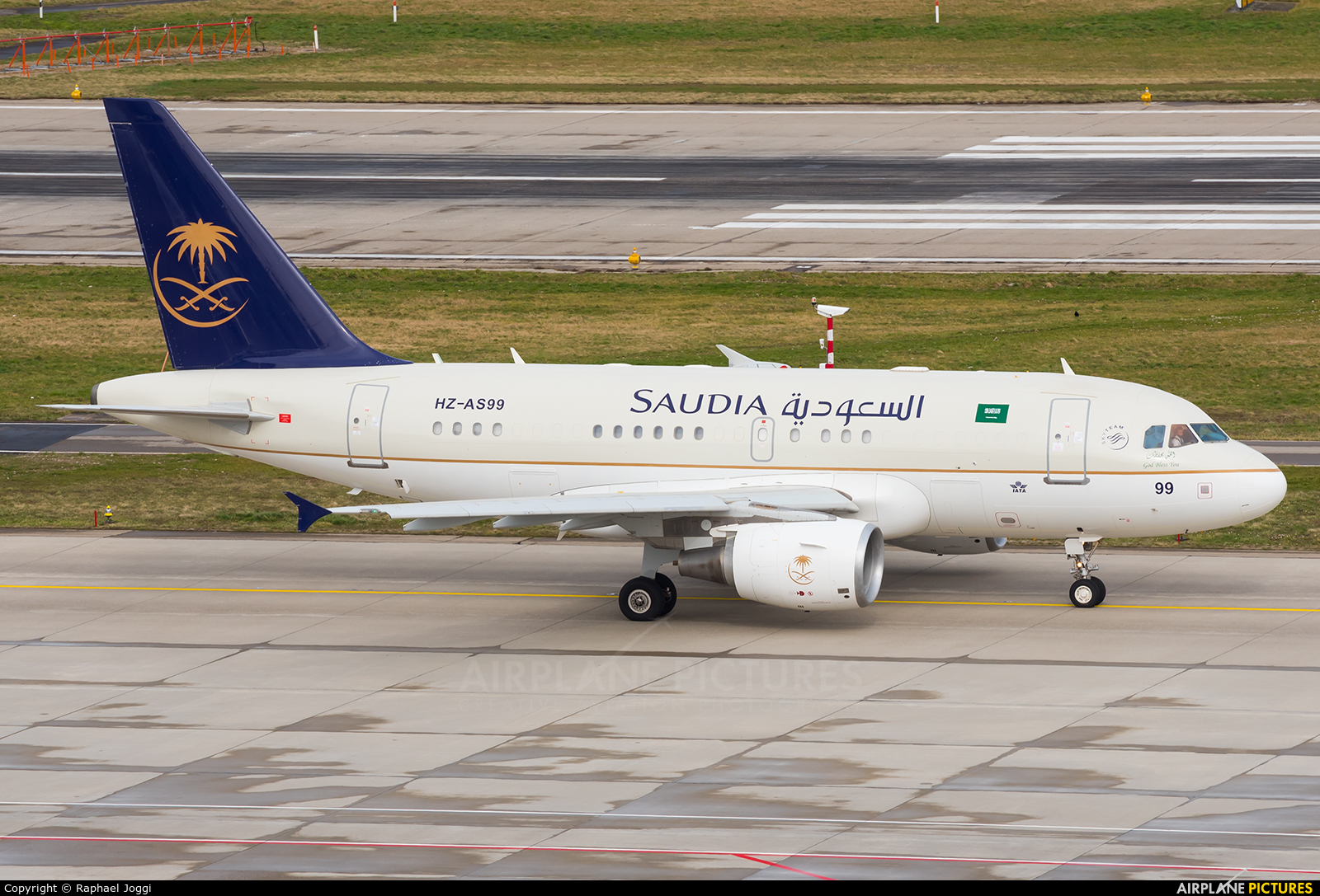 Saudi Arabia - Royal Flight HZ-AS99 aircraft at Zurich