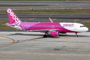 JA11VA - Peach Air Airbus A320