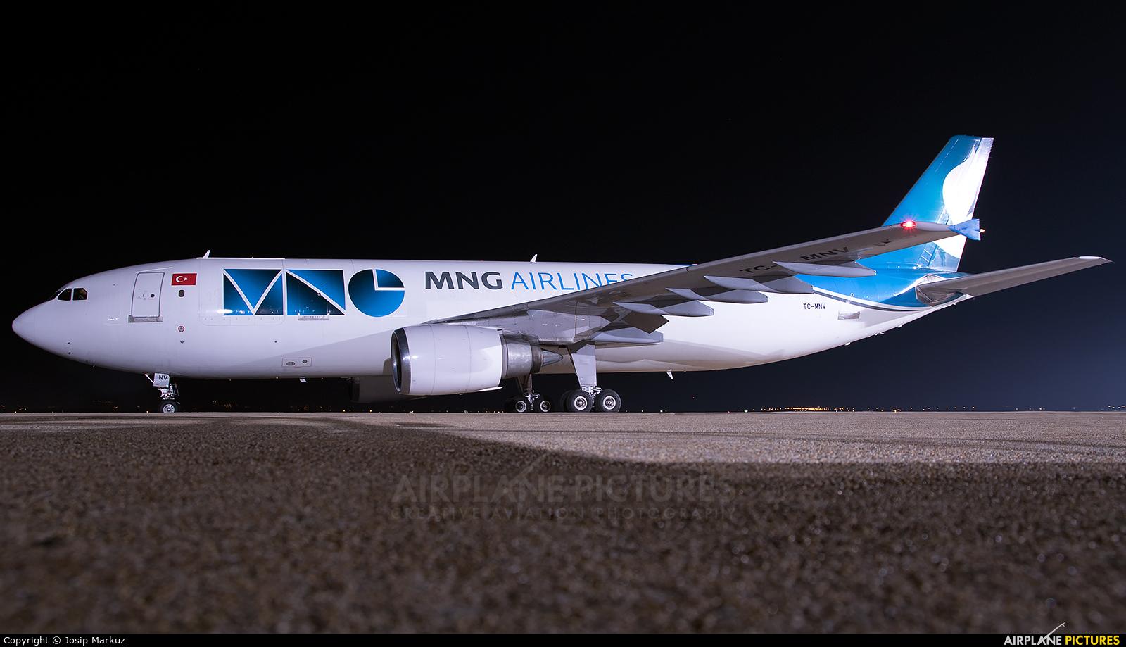 MNG Cargo TC-MNV aircraft at Zagreb
