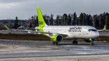 YL-AAV - Air Baltic Airbus A220-300 aircraft